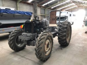 sandblast tractor taranaki